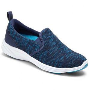 Vionic Agile Kea Slip On Navy Teal Sneaker 10